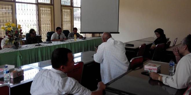 Kunjungan Komisi Penjaminan Mutu ke Fakultas Pertanian