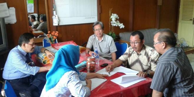 Kunjungan Tim Audit LPPMP Universitas Tadulako ke Prodi Agribisnis