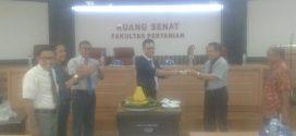Senat FAPERTA UNTAD Gelar Rapat Sekaligus Resmikan Ruang Senat Baru