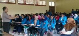 Kepala BNN Sulawesi Tengah Sosialisasikan Bahaya Narkoba untuk Mahasiswa Faperta UNTAD