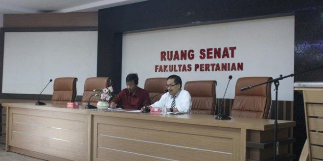 Dewan komisi SENAT Faperta UNTAD Bentuk Panitia Pemilihan Dekan