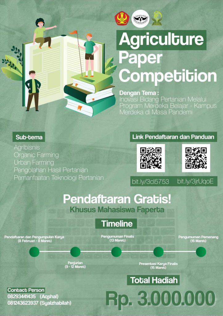 AGRICULTURE PAPER COMPETITION